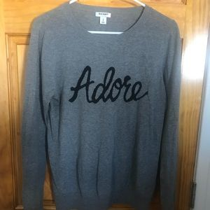 """Adore"" Old Navy sweater"